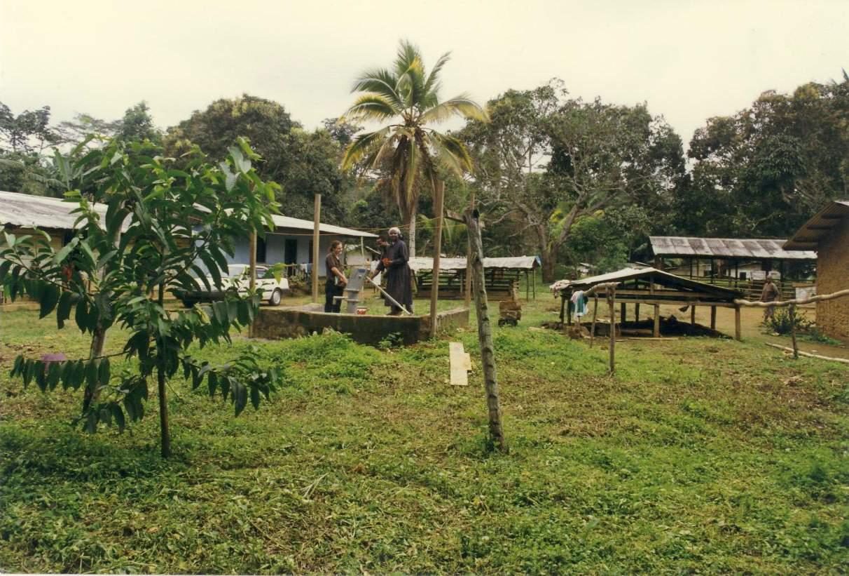 Trinkwasserprojekt in Ntam Bild-01